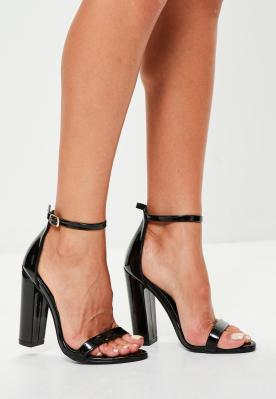 black-block-heel-barley-there-sandals